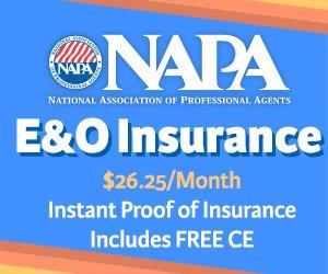 NAPA E and O Insurance
