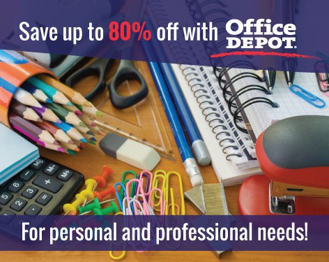 Office Depot Officemax Discount Napa Member Benefit